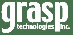 grasp logo white