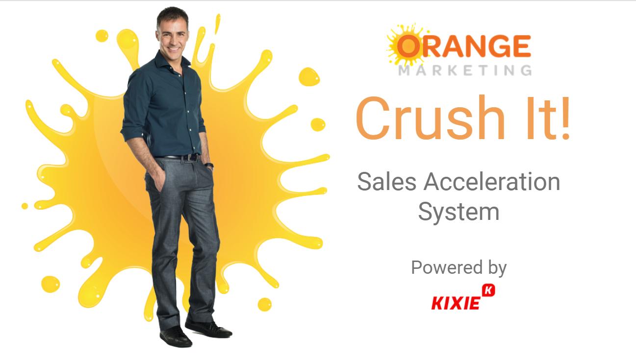 Kixie with Orange Marketing