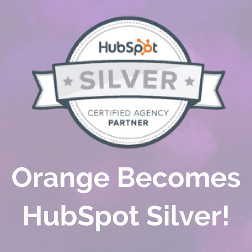 OrangeMarketing HubSpot Silver blog header - Square
